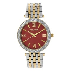 Police Maroon Dial Watch for Women