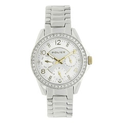 Police Silver Women Watch PL14627BS04MJ