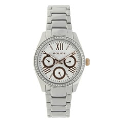 Police Silver Women Watch PL14628BS04MJ