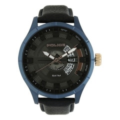 Police Brown Dial Analog Watch for Men