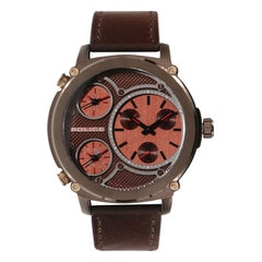 Police Brown Dial Chronograph Watch for Men