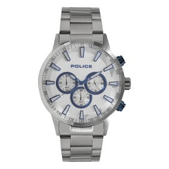 Police White Dial Chronograph Watch for Men