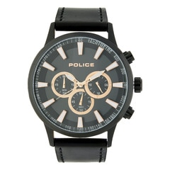 Police Grey Dial Chronograph Watch for Men