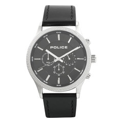 Police Black Dial Chronograph Watch for Men