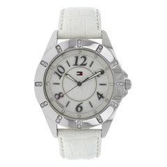 Tommy Hilfiger White Dial Analog Watch for Women-TH1781029J