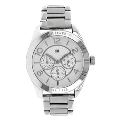 Tommy Hilfiger Silver Dial Multi-functional Watch for Women-TH1781215/D