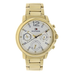 Tommy Hilfiger Sport Silver Dial Multifunction Watch for Women