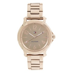 Tommy Hilfiger Rose Gold Dial Analog Watch for Women