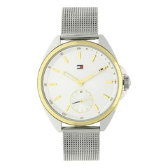 Tommy Hilfiger Sport Silver Dial Analog Watch for Women