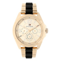 Tommy Hilfiger Rose Gold Dial Multifunction Watch for Women