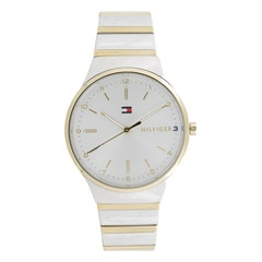 Tommy Hilfiger Silver dial Analog Watch for Women