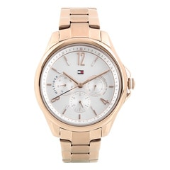 Tommy Hilfiger White Dial Analog Watch for Women