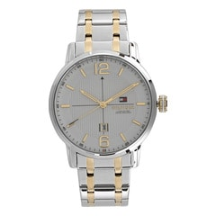 Tommy Hilfiger White Dial Analog Watch for Men