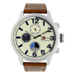 Tommy Hilfiger Stainless Steel Strap watch for Men