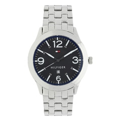 Tommy Hilfiger Black Dial Analog Watch for Men