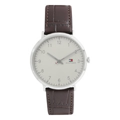 Tommy Hilfiger Off-White Dial Analog Watch for Men