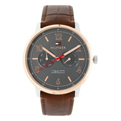 Tommy Hilfiger Grey dial Multifunction Watch for Men