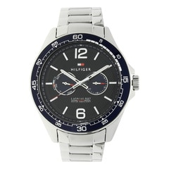 Tommy Hilfiger Grey Dial Stainless Steel Strap Watch for Men