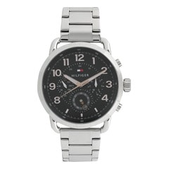 Tommy Hilfiger Black Dial Multifunction Watch for Men
