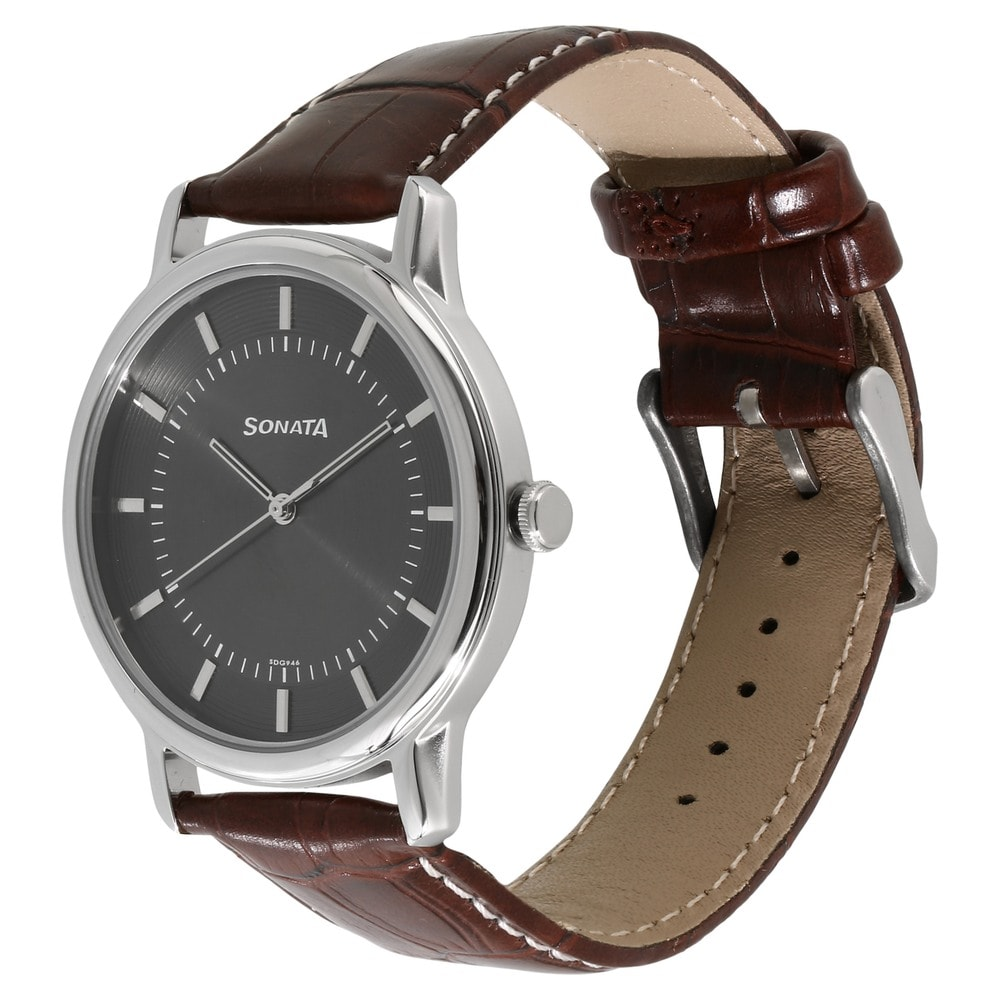 watch male watches beinuo leather men clock brand luxury hombre maroon relojes casual in on from wristwatch quartz item