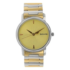 Sonata Stainless Steel Strap Watch for Men