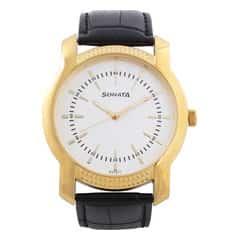 Sonata Silver-White Dial Analog Watch for Men-7093YL01