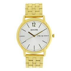Sonata Silver Dial Analog Watch for Men