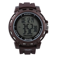 Sonata Digital Watch for Men-77037PP05J