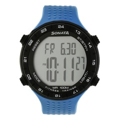 SF by Sonata Fitness Watch with Pedometer for Men-77040PP03
