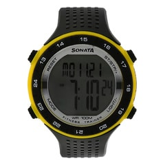 SF by Sonata Fitness Watch with Pedometer for Men-77040PP04