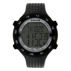 SF by Sonata Fitness Watch with Pedometer for Men-77040PP05