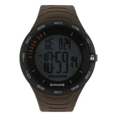 SF by Sonata Black Dial DigitalWatch for Men - 77041PP02J