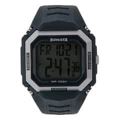 SF by Sonata digital watch for Men-77048PP02J