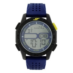 SF Carbon II Series Blue Strap Unisex Digital Watch