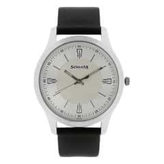 Sonata Nxt Silver Dial Watch for Men