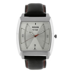 Sonata Nxt Silver Dial Watch for Men