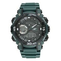 Sonata Black Dial Ana-Digi Watch for Men