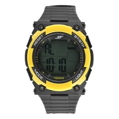 Sonata Grey Dial Digital Watch for Men