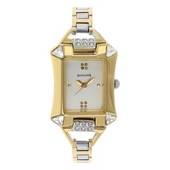 Sonata Silver Dial Analog Watch For Women-8124BM01