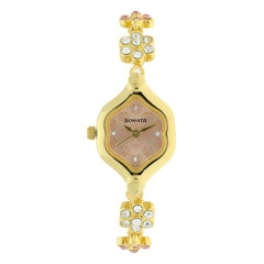 Sonata Solid Links Strap watch for Women