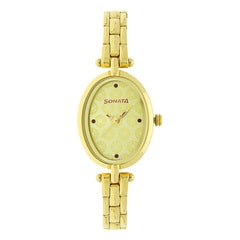 Sonata Burgundy Dial Analog Watch for Women