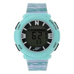 SF by Sonata White Strap Digital Watch for Women-87016PP04J