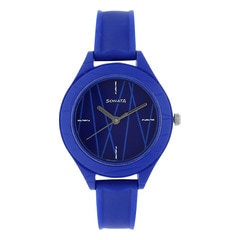 Sonata Blue Dial Analog Watch for Girls