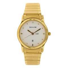 Sonata White Dial Analog Watch For Men-NC7023YM07