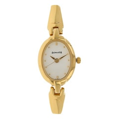 Sonata Others White Dial Analog Watch for Women