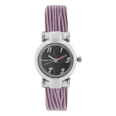 Sonata Black Dial Analog Watch For Women-NF8944SL02J