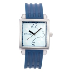 Sonata Blue Dial Analog Watch For Women-NF8990PP02J