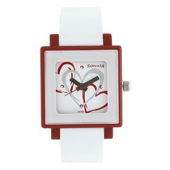 Zoop Silver Dial Analog Watches for Girls