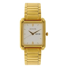 Sonata White Dial Analog Watch For Men-NG7053YM04A