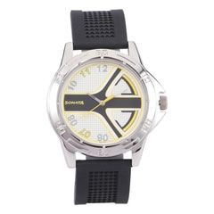 Sonata Round Dial Black Analog for Men- NG77001SP02A